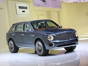 Bentley представила в Женеве концепт будущего внедорожника - Bentley