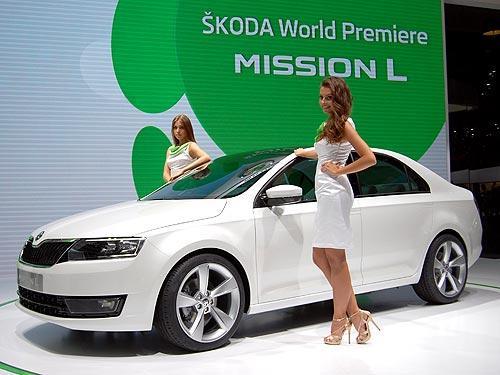 Skoda представит бюджетный седан - Skoda