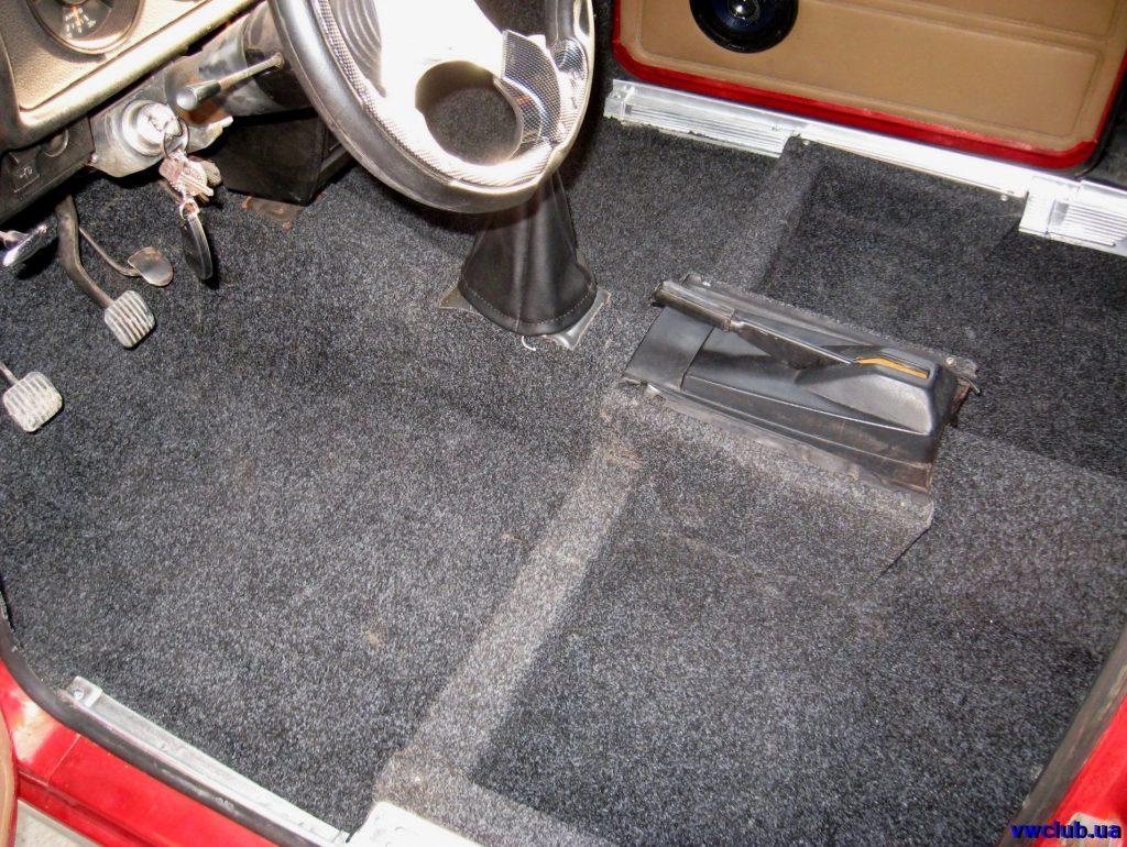 Чем заменить ковролин в машине
